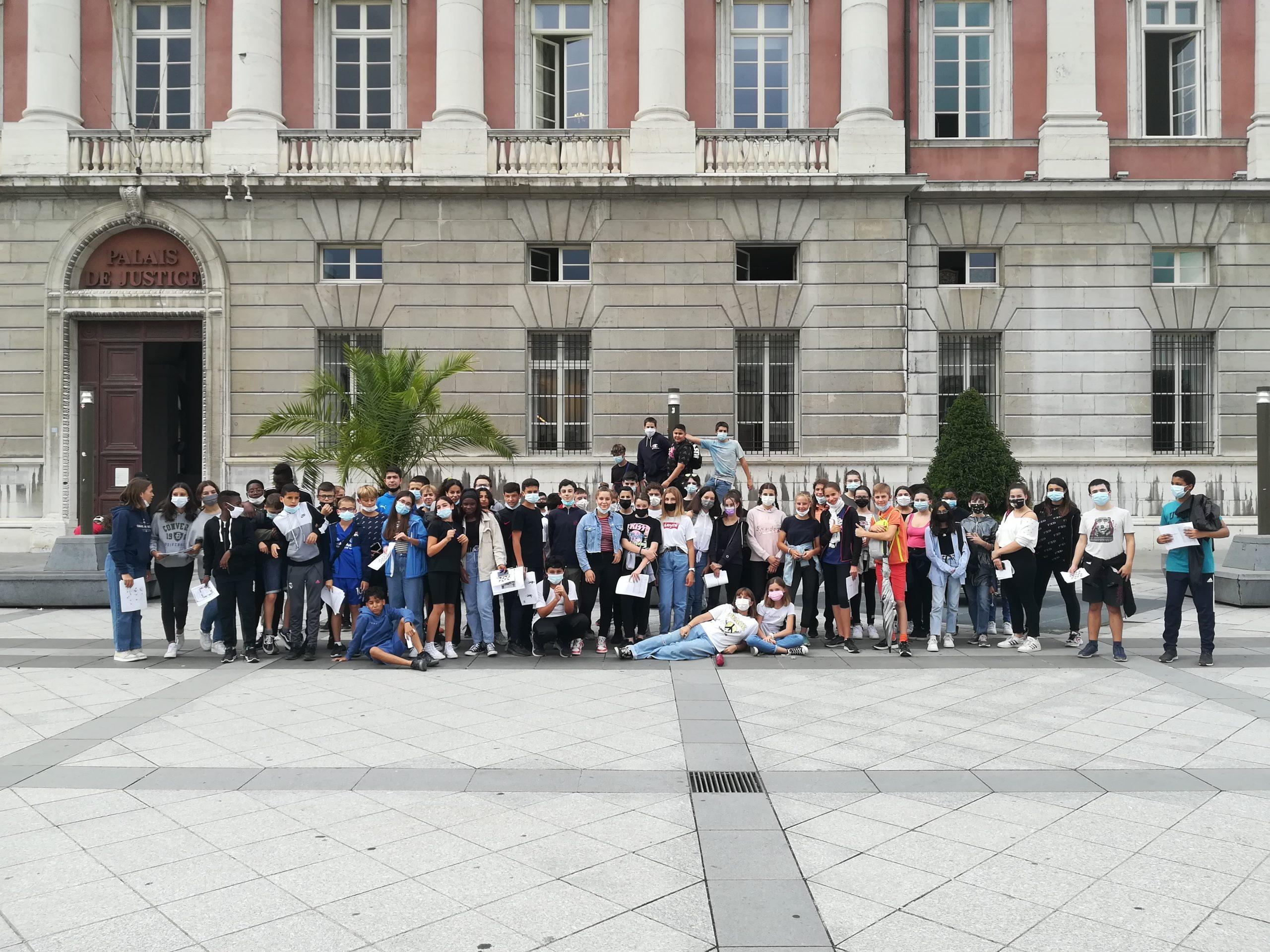 You are currently viewing ½ journée d'intégration des 4èmes dans Chambéry